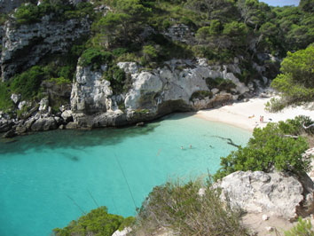Menorca- Playa Macarelleta